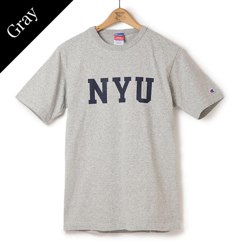 Champion/NYU T-Shirt/チャンピオン/NYU Tシャツ